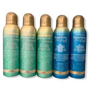 ogx dry shampoo foam